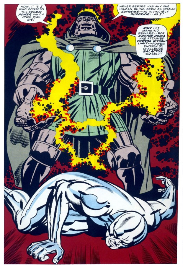 Dr Doom and Silver Surfer