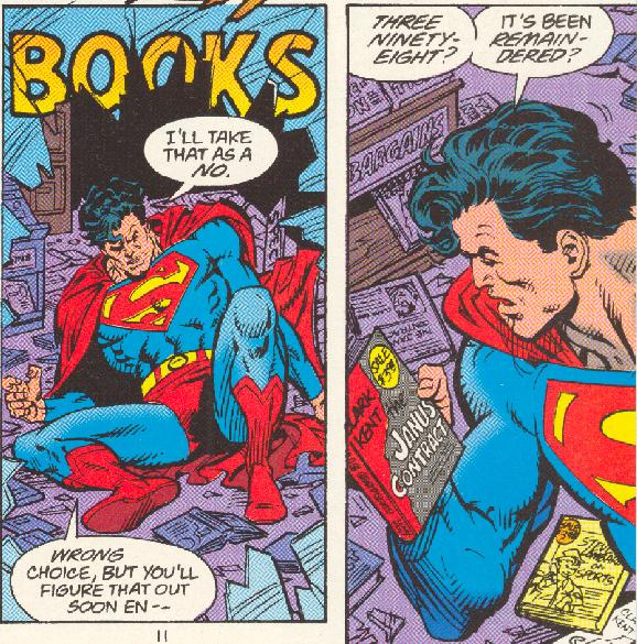 superman and me essay
