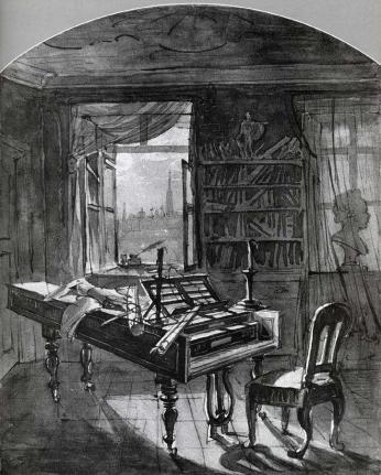 Johann_Nepomuk_Hoechle_-_Beethoven's_Room_-_WGA11448